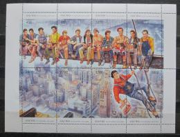 Poštovní známky Abcházie, Rusko 1993 Nejslavnìjší foto svìta Mi# N/N