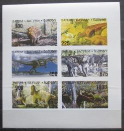 Poštovní známky Batum, Rusko 1998 Dinosauøi neperf. Mi# N/N