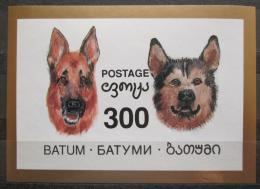 Poštovní známka Batum, Rusko 1998 Psi neperf. Mi# N/N