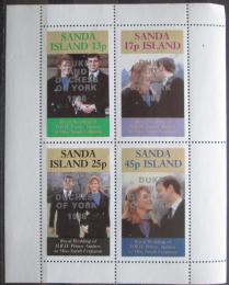 Poštovní známky Sanda Island, Skotsko 1986 Královská svatba Mi# N/N