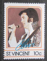 Poštovní známka Svatý Vincenc 1985 Elvis Presley Mi# 862