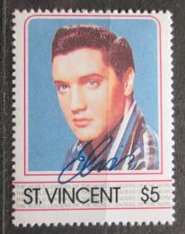 Poštovní známka Svatý Vincenc 1985 Elvis Presley Mi# 869 Kat 3€