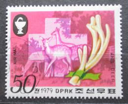 Poštovní známka KLDR 1979 Chov zvìøe Mi# 1903