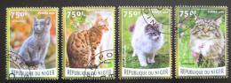 Poštovní známky Niger 2016 Koèky Mi# 4127-30 Kat 12€