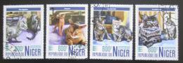 Poštovní známky Niger 2017 Koèky Mi# 5266-69 Kat 13€
