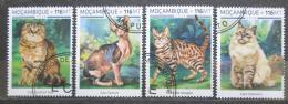 Poštovní známky Mosambik 2018 Koèky Mi# N/N