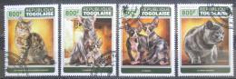 Poštovní známky Togo 2017 Koèky Mi# 8219-22 Kat 13€