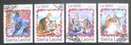 Poštovní známky Sierra Leone 2016 Koèky Mi# 7993-96 Kat 11€