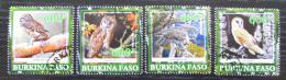 Poštovní známky Burkina Faso 2019 Sovy Mi# N/N