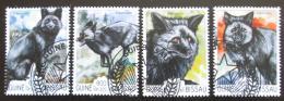 Poštovní známky Guinea-Bissau 2015 Liška obecná Mi# 7683-86 Kat 13€