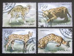 Poštovní známky Togo 2013 Serval Mi# 4856-59 Kat 12€