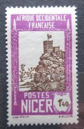 Poštovní známka Niger 1939 Pevnost Zinder Mi# 71
