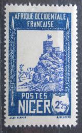 Poštovní známka Niger 1939 Pevnost Zinder Mi# 75