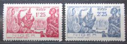 Poštovní známky Niger 1939 Svìtová výstava v New Yorku Mi# 88-89