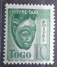 Poštovní známka Togo 1942 Maska, doplatní Mi# 33
