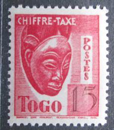 Poštovní známka Togo 1942 Maska, doplatní Mi# 34