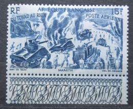 Poštovní známka Francouzská Rovníková Afrika 1946 Z Èadu k Rýnu Mi# 258