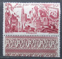 Poštovní známka Francouzská Rovníková Afrika 1946 Z Èadu k Rýnu Mi# 261