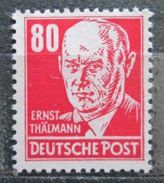 Poštovní známka DDR 1953 Ernst Thälmann, politik Mi# 340 v Kat 5€