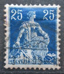 Poštovní známka Švýcarsko 1908 Helvetia Mi# 103 x