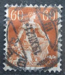 Poštovní známka Švýcarsko 1915 Helvetia Mi# 140 x