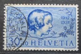 Poštovní známka Švýcarsko 1937 Dívèí hlava Mi# 317 Kat 7€