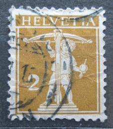 Poštovní známka Švýcarsko 1911 Tellùv syn Mi# 111