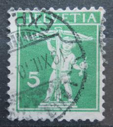 Poštovní známka Švýcarsko 1909 Tellùv syn Mi# 113 I