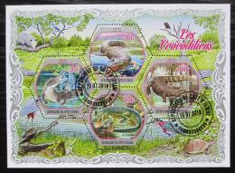 Poštovní známky Pobøeží Slonoviny 2018 Krokodýli Mi# N/N
