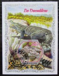 Poštovní známka Pobøeží Slonoviny 2018 Krokodýli Mi# N/N