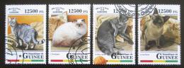 Poštovní známky Guinea 2018 Koèky Mi# 12820-23 Kat 20€