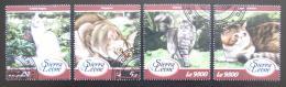 Poštovní známky Sierra Leone 2018 Koèky Mi# 9260-63 Kat 11€