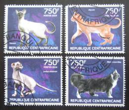 Poštovní známky SAR 2014 Koèky Mi# 4670-73 Kat 14€