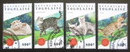 Poštovní známky Togo 2018 Koèky Mi# 9066-69 Kat 13€