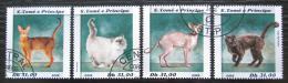 Poštovní známky Svatý Tomáš 2018 Koèky Mi# N/N