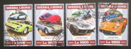 Poštovní známky Sierra Leone 2018 Automobily Lamborghini Mi# 9504-07 Kat 11€
