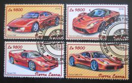 Poštovní známky Sierra Leone 2018 Ferrari Mi# 9420-23 Kat 11€