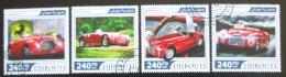 Poštovní známky Džibutsko 2017 Ferrari Mi# 1648-51 Kat 10€