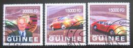 Poštovní známky Guinea 2013 Porsche 911 Mi# 9910-12 Kat 20€