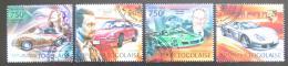 Poštovní známky Togo 2012 Automobily Porsche Mi# 4588-91 Kat 12€