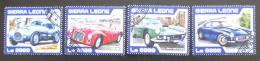 Poštovní známky Sierra Leone 2017 Ferrari Mi# 8361-64 Kat 11€