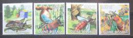 Poštovní známky Guinea-Bissau 2009 Vèely Mi# 4131-34 Kat 9.50€