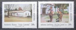Poštovní známky Argentina 1993 Umìní Mi# 2179-80
