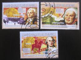 Poštovní známky Guinea 2009 Svìtová výstava v Paøíži Mi# 6674-76 Kat 10€
