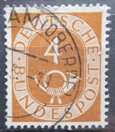 Poštovní známka Nìmecko 1951 Poštovní trubka Mi# 124