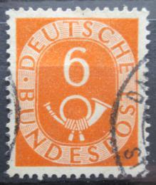 Poštovní známka Nìmecko 1951 Poštovní trubka Mi# 126 Kat 4€