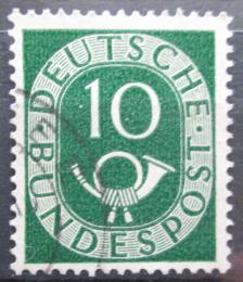 Poštovní známka Nìmecko 1951 Poštovní trubka Mi# 128