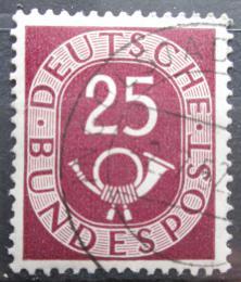 Poštovní známka Nìmecko 1951 Poštovní trubka Mi# 131 Kat 7€