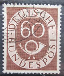 Poštovní známka Nìmecko 1951 Poštovní trubka Mi# 135