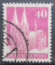 Poštovní známka Nìmecko 1948 Katedrála svatého Petra v Kolínì Mi# 90